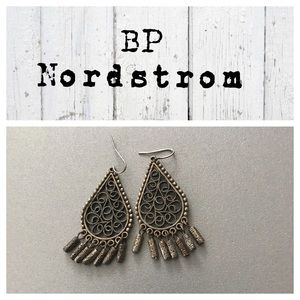 BP Nordstrom dangle Teardrop Earrings